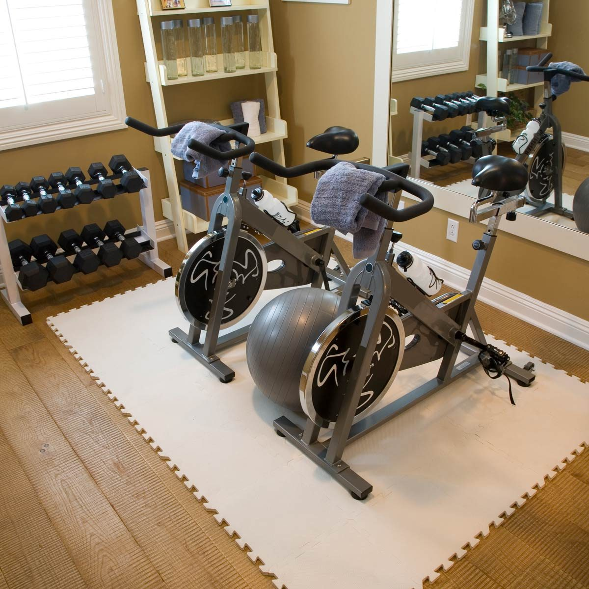 The 5 Best Home Gym Flooring Ideas