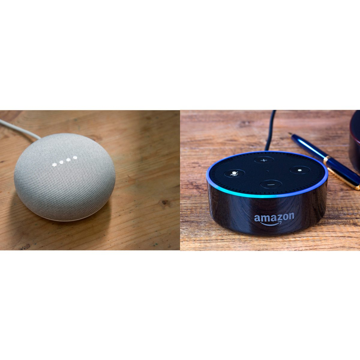 Google Home Mini vs Echo Dot: A Side-by-Side Comparison