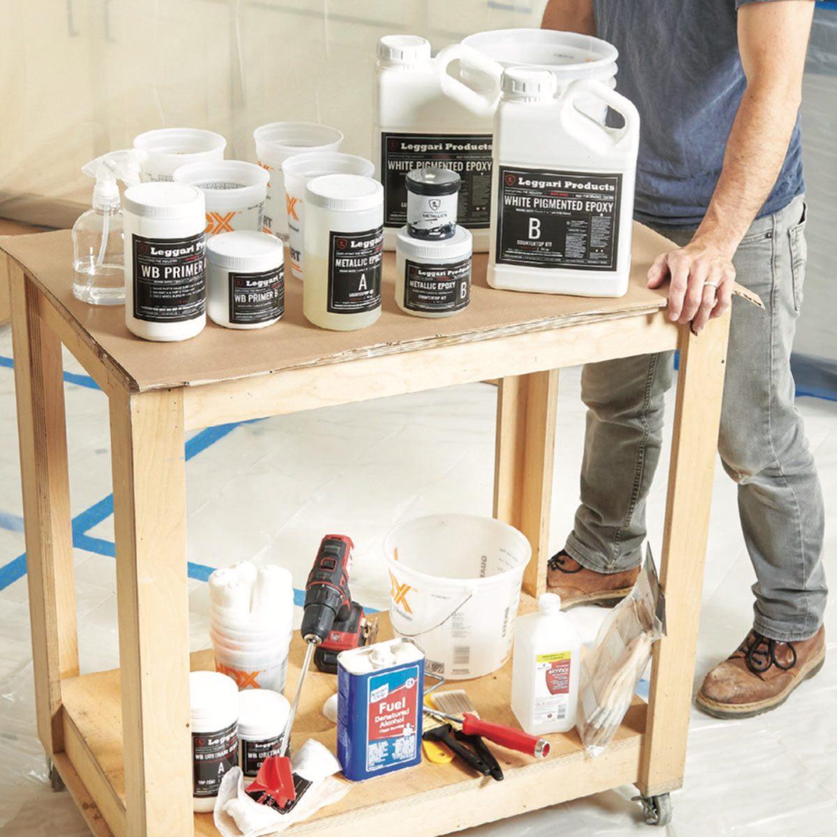 epoxy countertop materials
