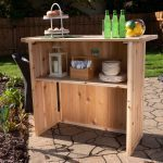 How To Build A Folding Outdoor Bar