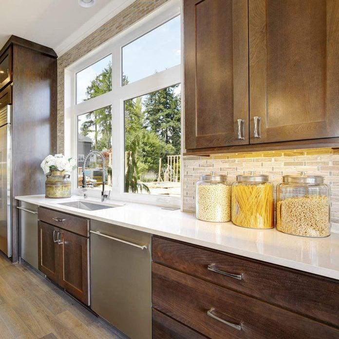 Best Kitchen Backsplash Ideas For Dark, Best Backsplash For Kitchen With Dark Cabinets