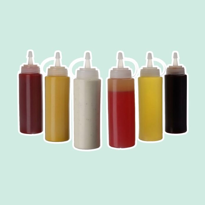 Plastic Squeeze Squirt Bottles