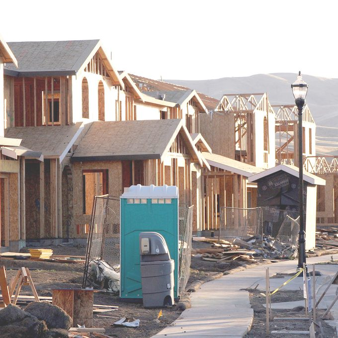 abandoned homes being built housing crisis