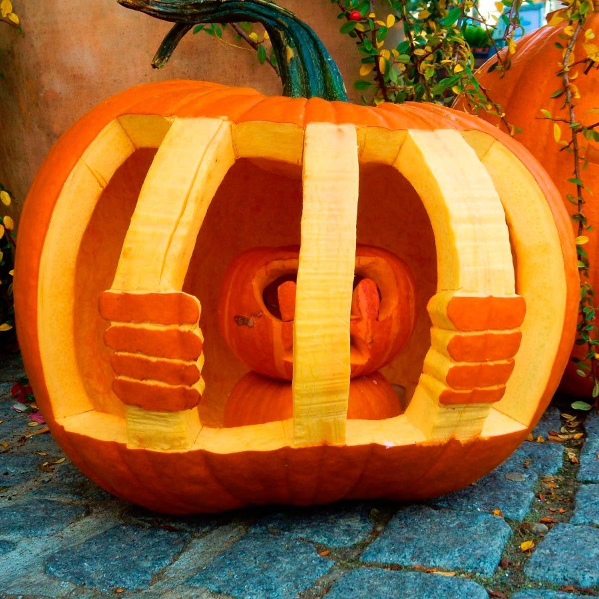 pumpkin template toilet  5 Pumpkin Carving Ideas to Inspire You this Halloween ...
