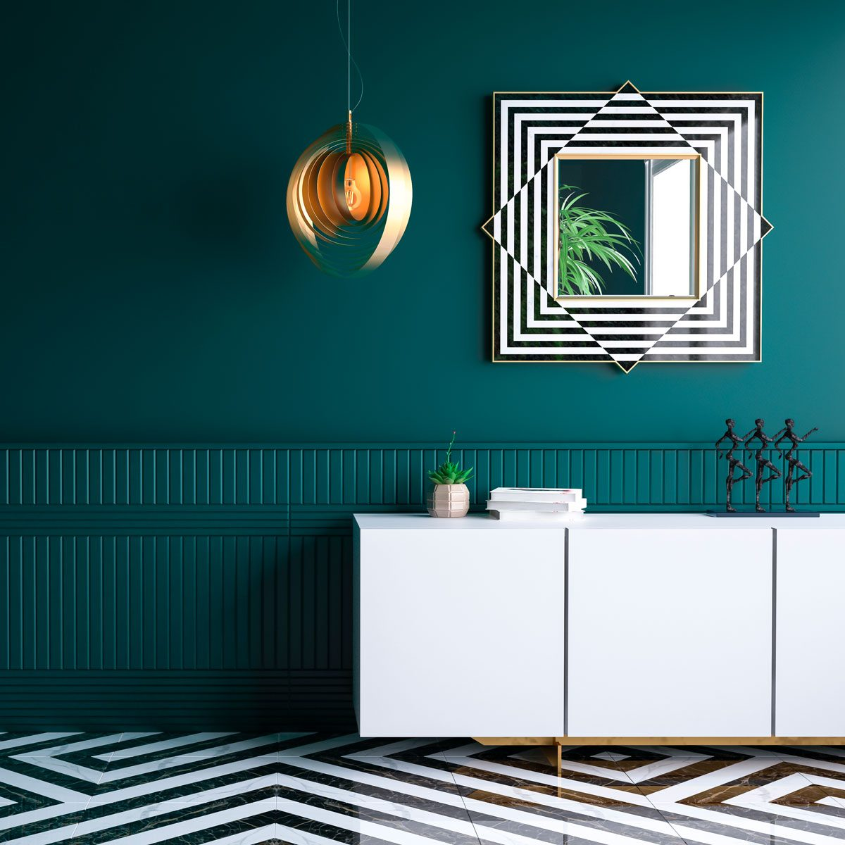 What S Not To Love About Green Wall Paint Family Handyman