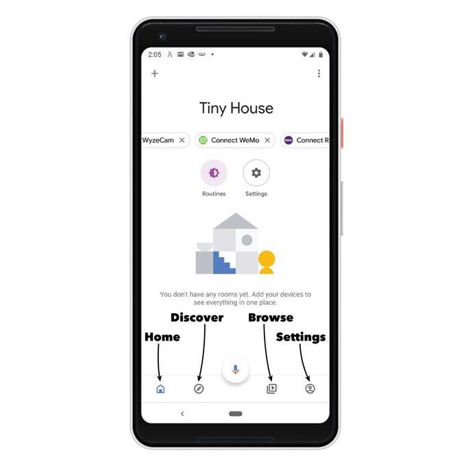 google home app pixel callouts
