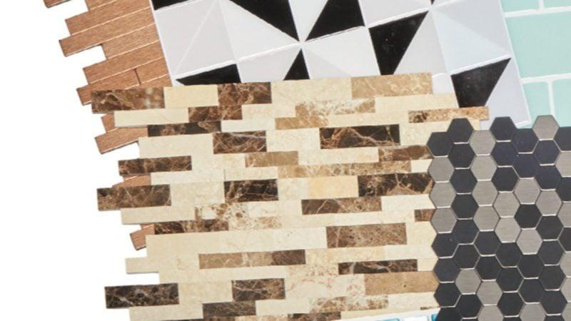 peel and stick kitchen backsplash tile