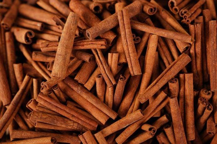 Cinnamon sticks in a bazaar