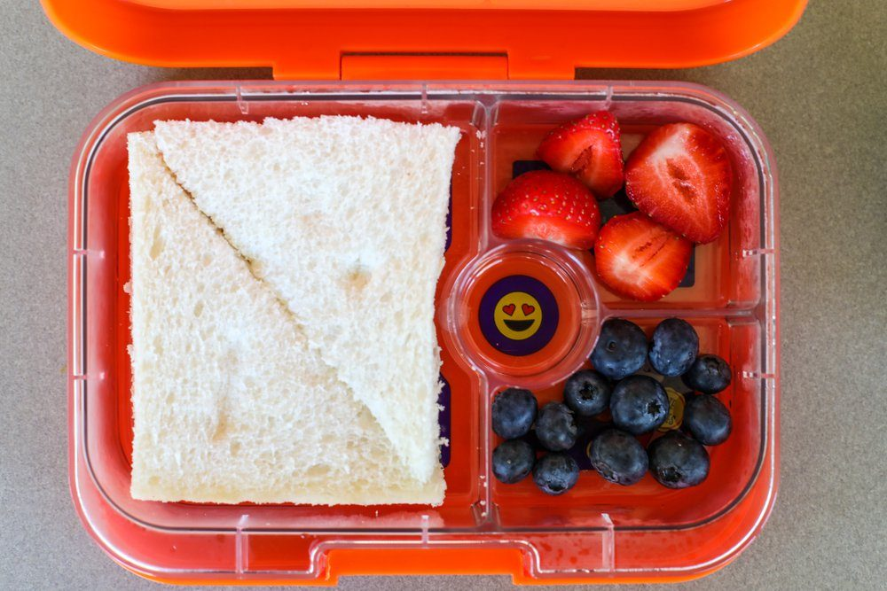 Healthy lunchbox meals for children.