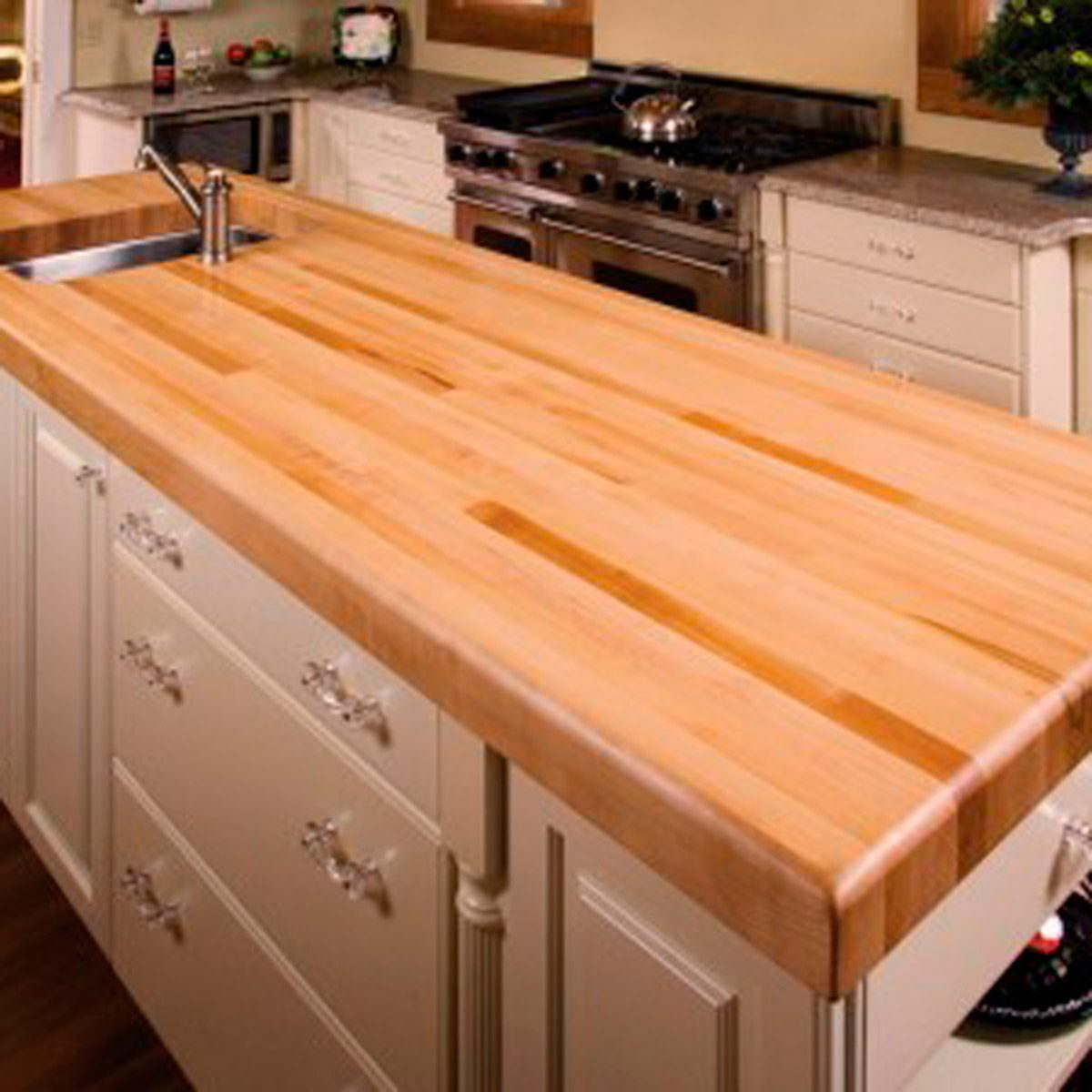 What To Know About Your Butcher Block Countertop Family Handyman
