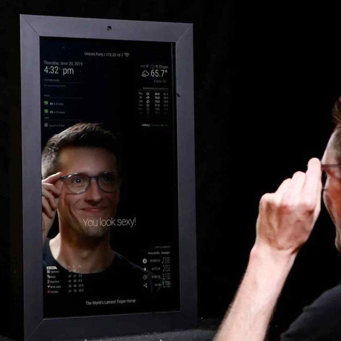 Makr-Mirror Smart Mirror