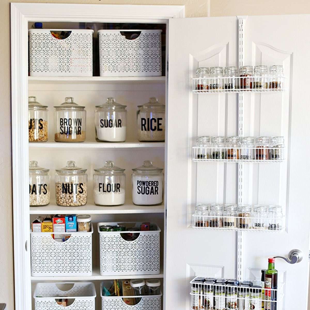 Kitchen Cabinet Organizing Ideas Pinterest: 13 Pantry Organization Tools You Can Totally Use