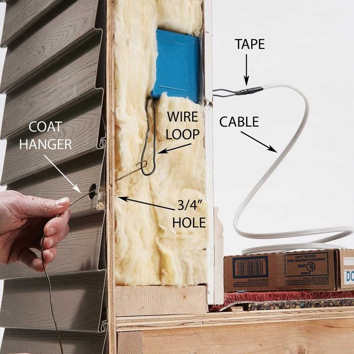 Run Cable Between the Outlets