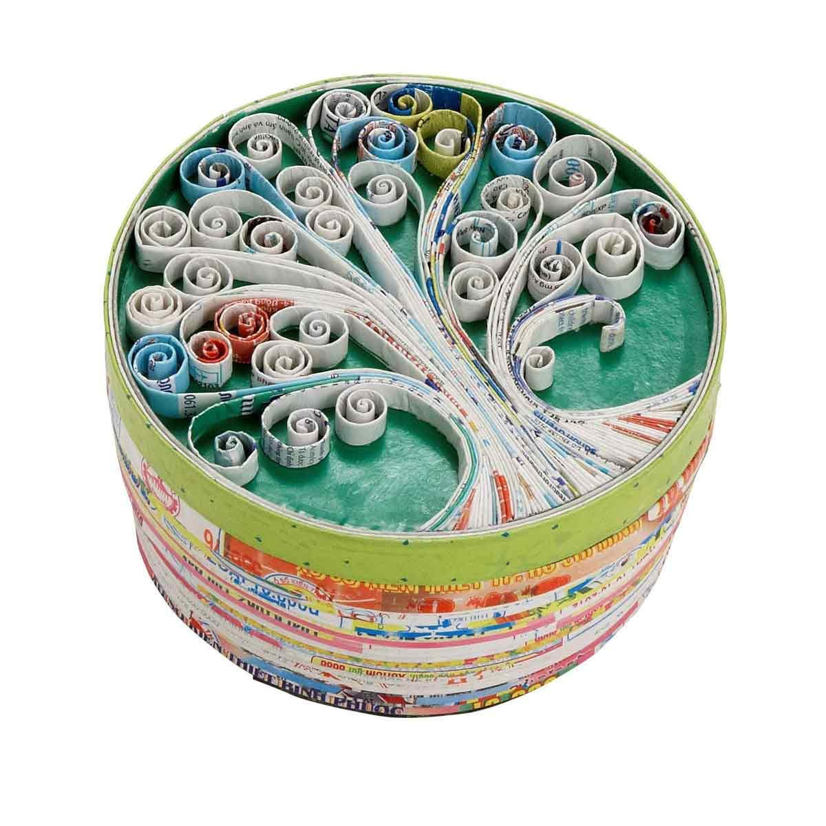Ten-Thousand-Villages-Round-Tree-Box-Made-From-Recycled-Material