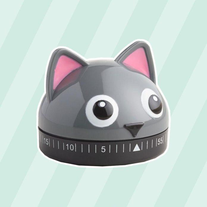 Cat kitchen timer