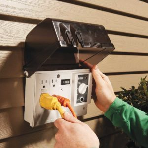 How to Add an Outdoor Outlet