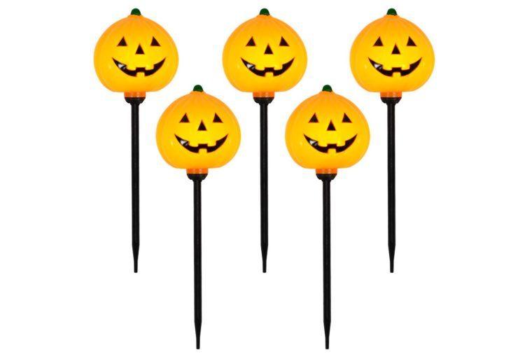 pumpkin path lights target spooky halloween decor decorations