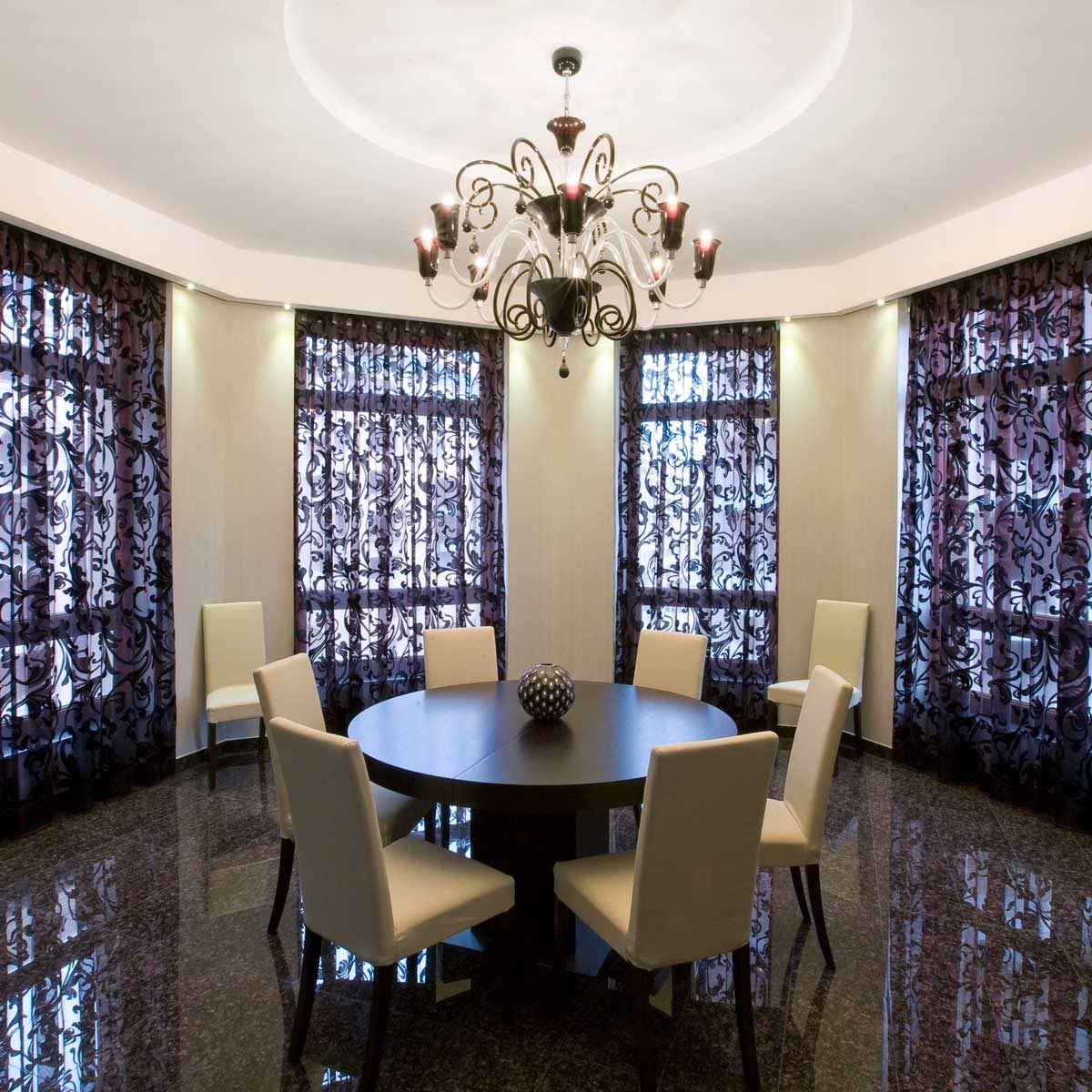Stylish Dining Room Curtain Ideas | Family Handyman