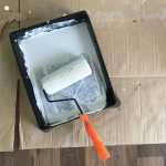 How to Clean Paint Rollers and Tray