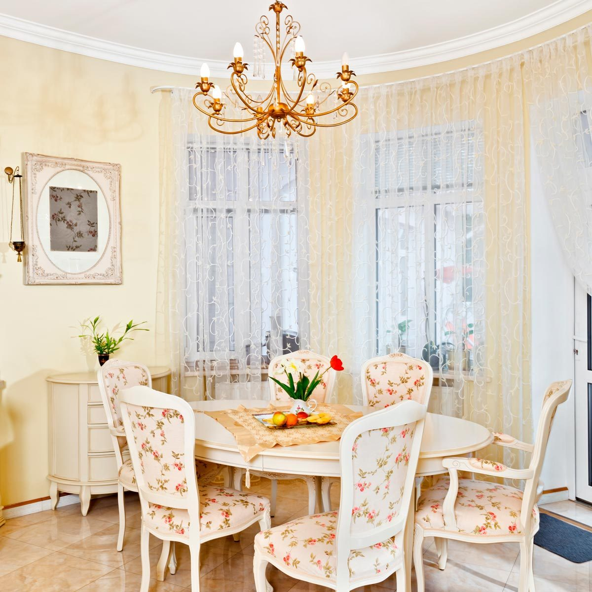 Stylish Dining Room Curtain Ideas Family Handyman