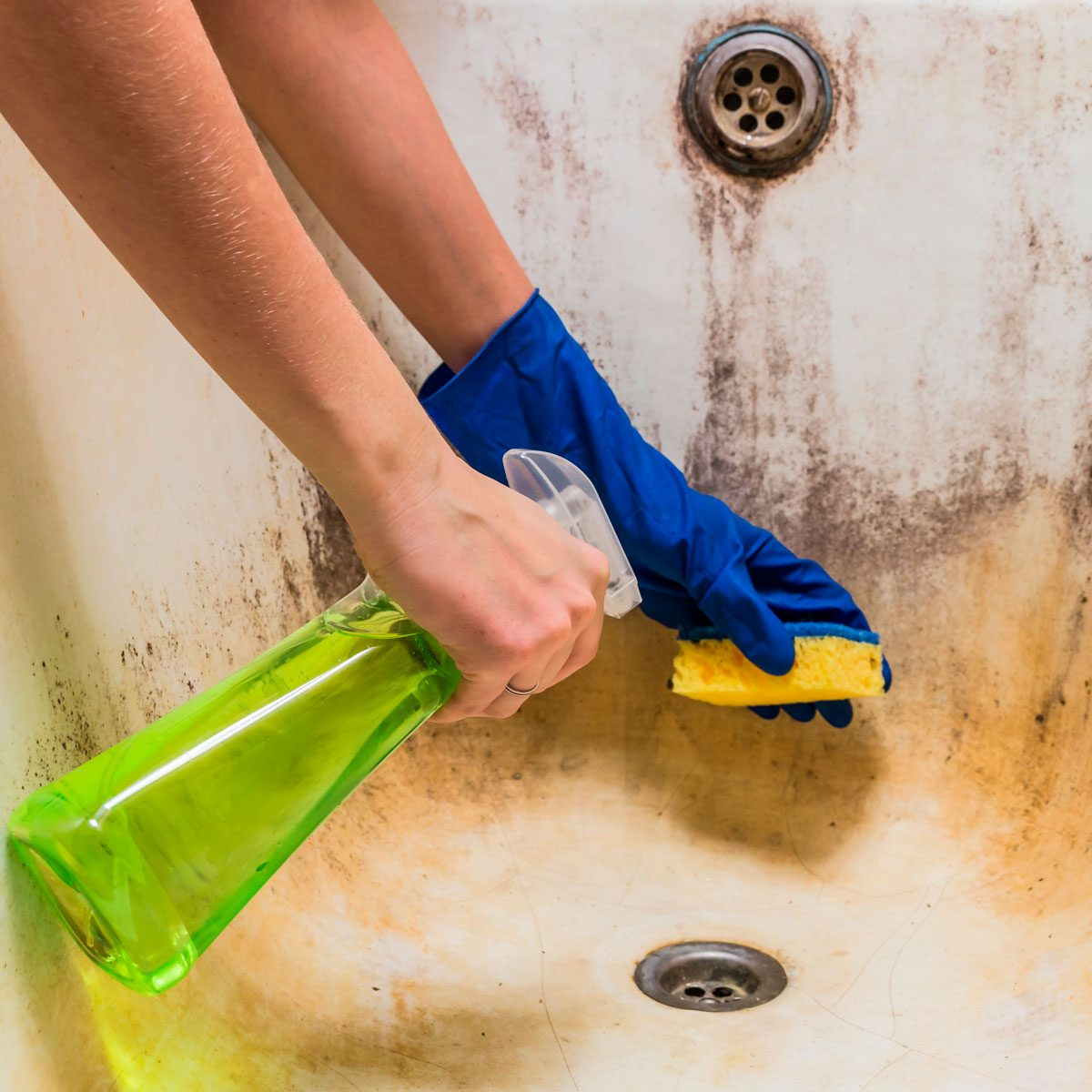 How To Clean Bathtub Stains Family Handyman