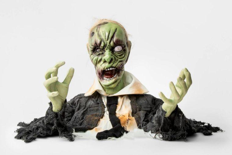 zombie groundbreaker target spooky halloween decor decorations