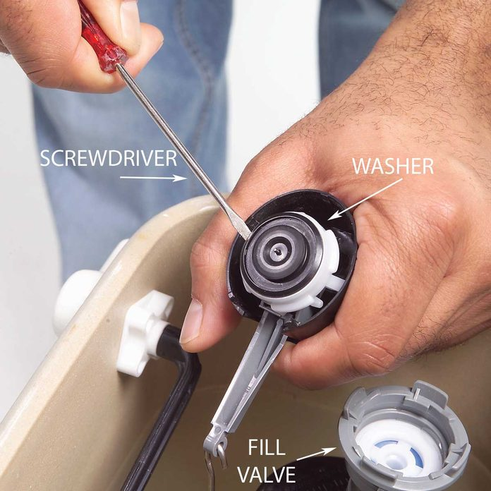 Replace the Washer