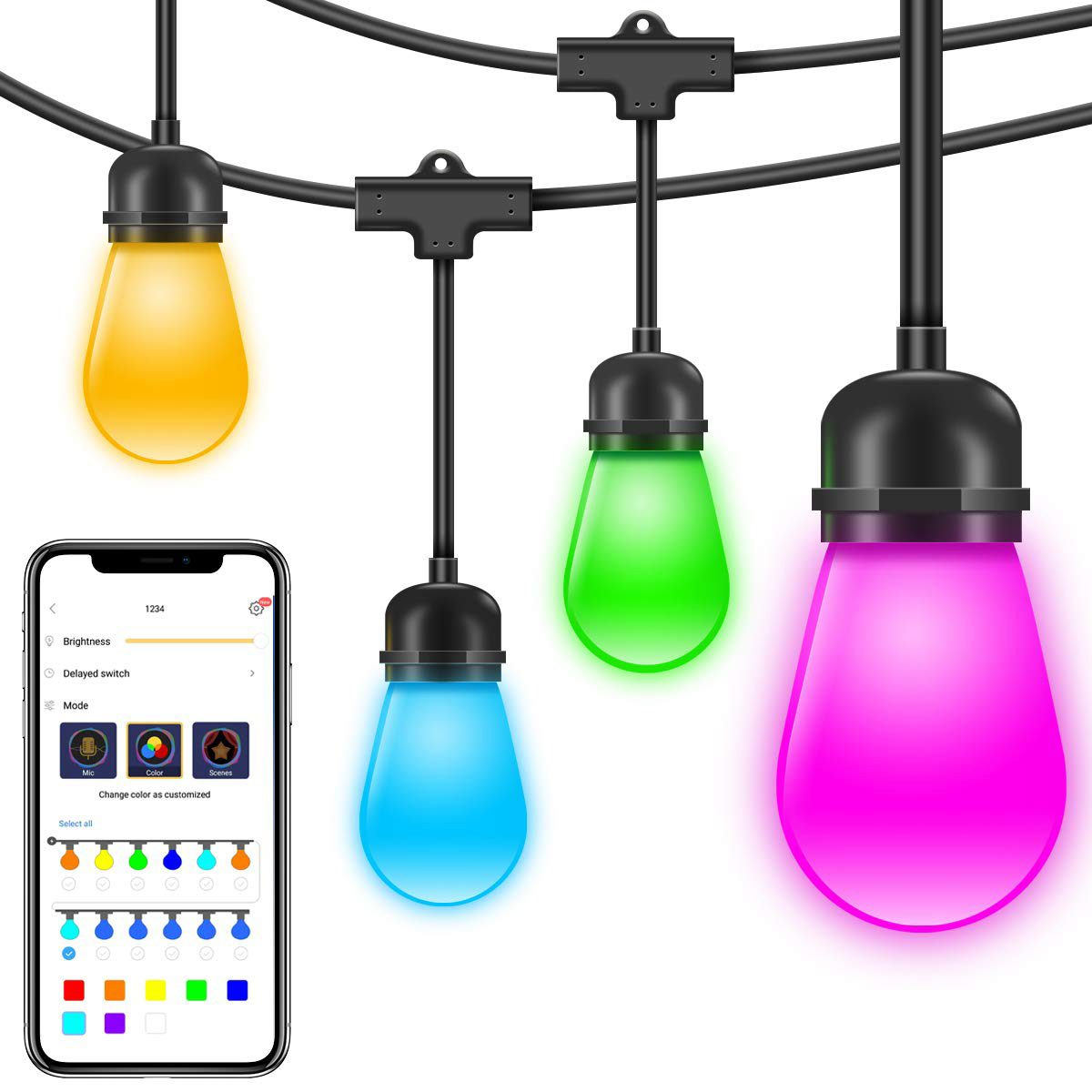 smart outdoor lights