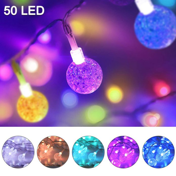 LED color changing outdoor Christmas lights