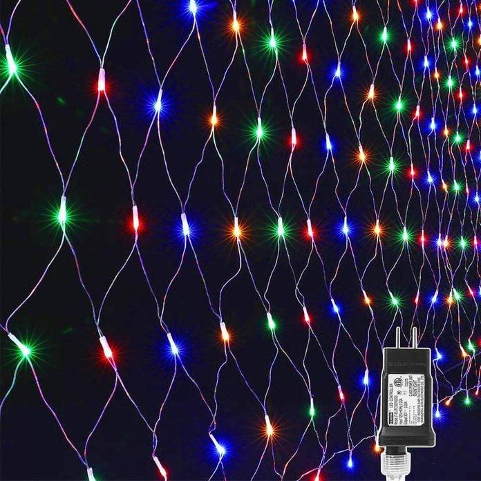 net outdoor Christmas lights