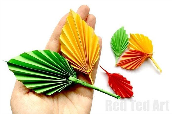 paper leaf art