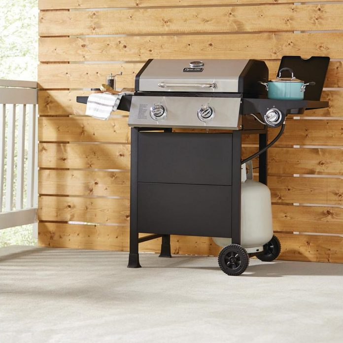 two burner grill