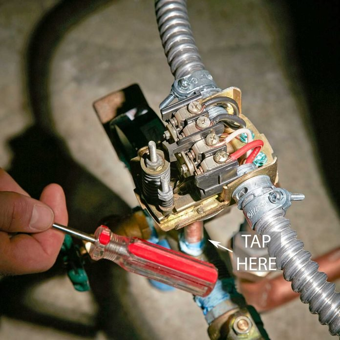 Check the pressure switch