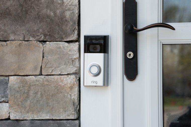 audio video doorbell
