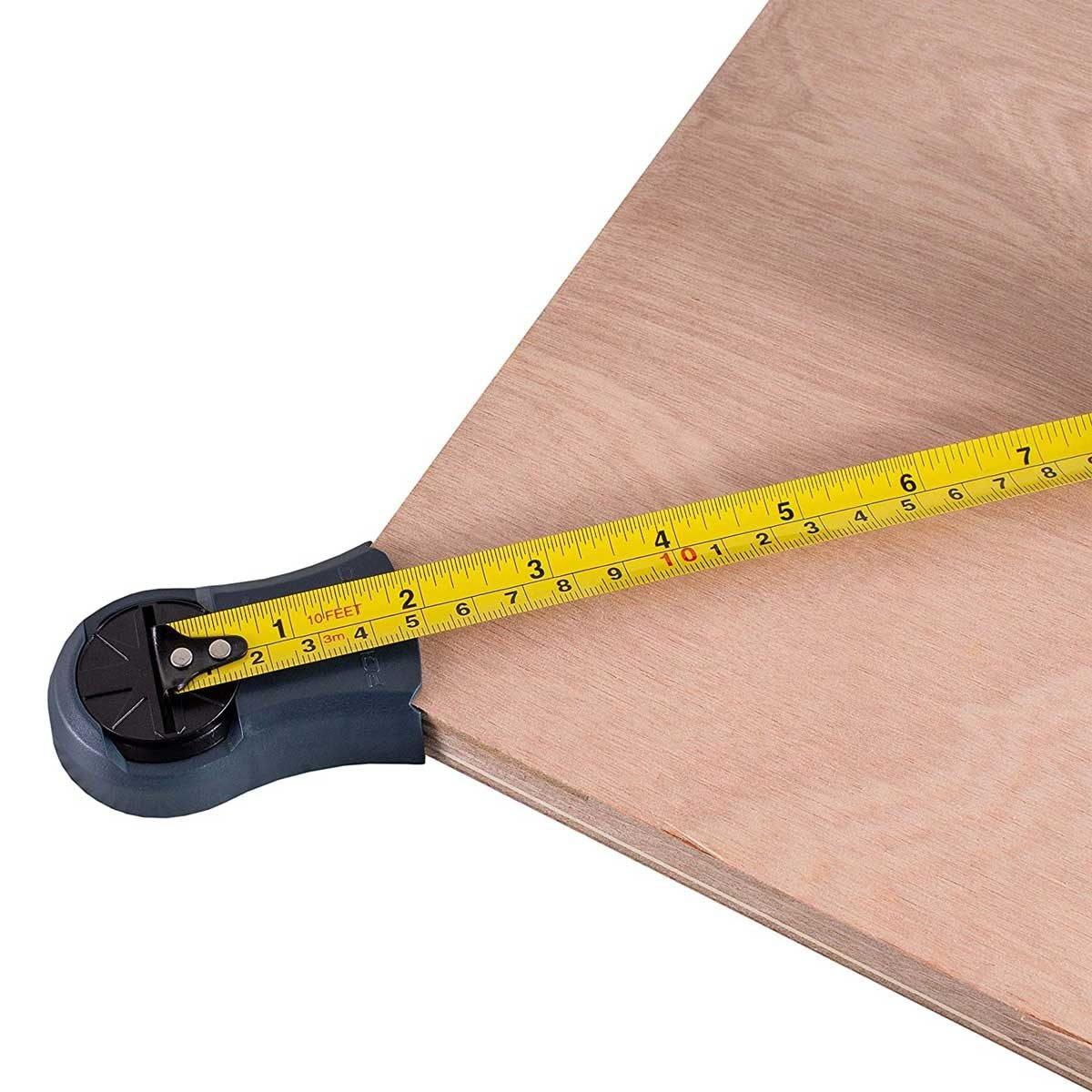 Square check tape measure tool