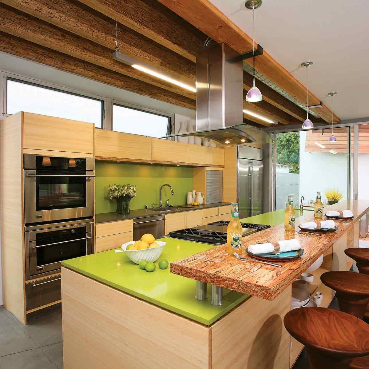 Avocado-Green-Kitchen