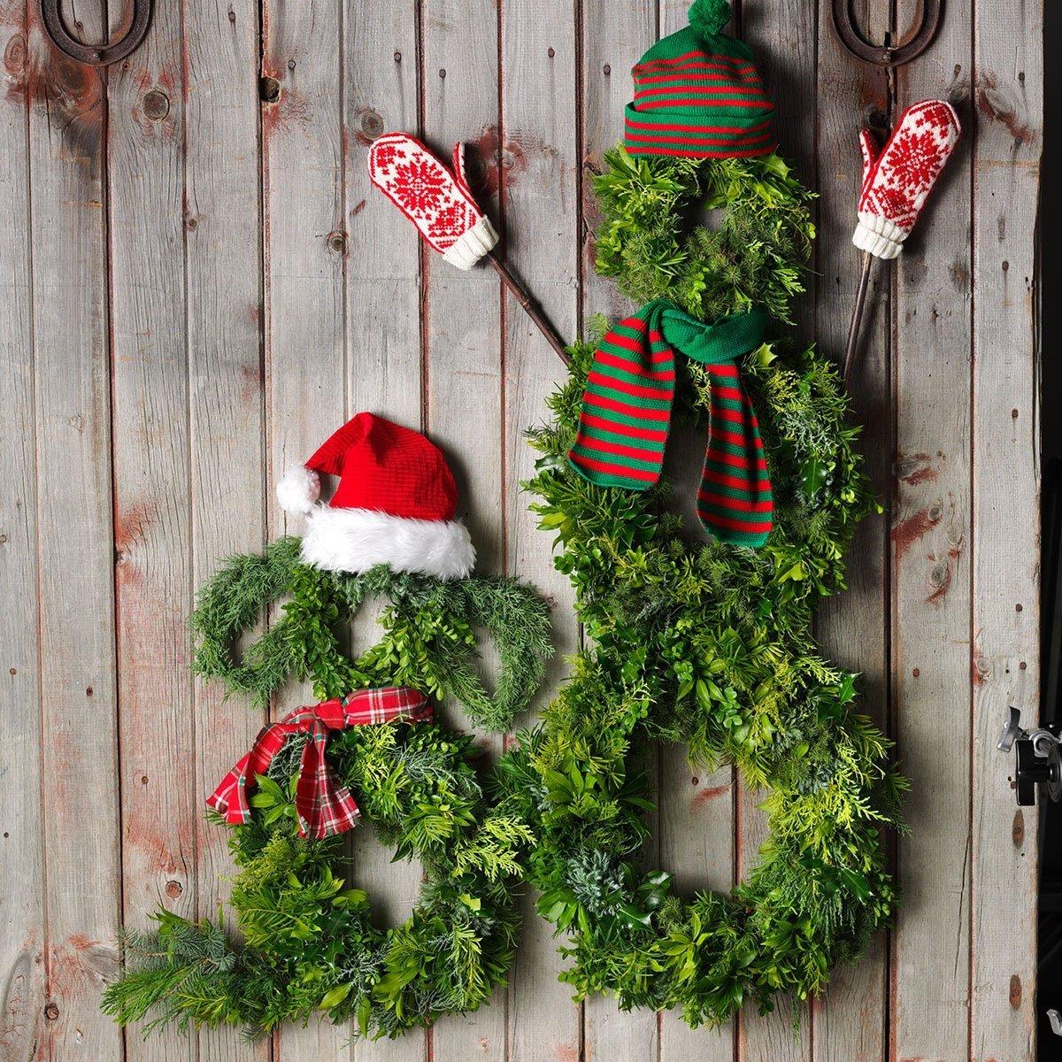 Santa's Helpers wreath