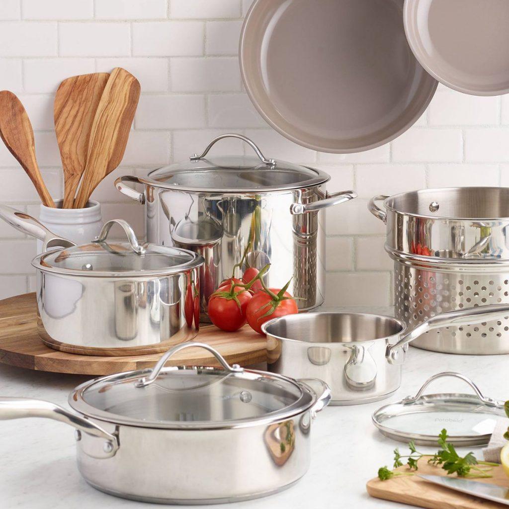 Cost Plus World Market kitchen pots and pans
