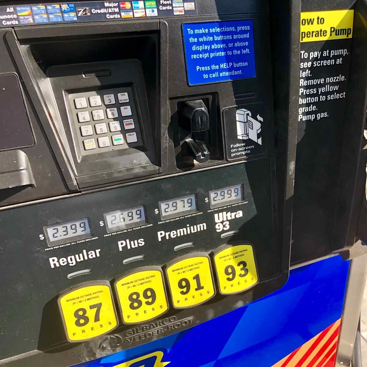 This is the Difference Between Regular and Premium Gasoline