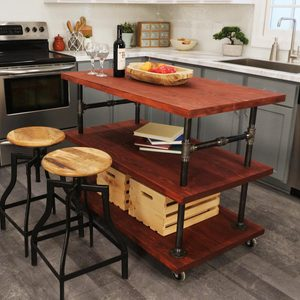 How to Make a Rustic Kitchen Island