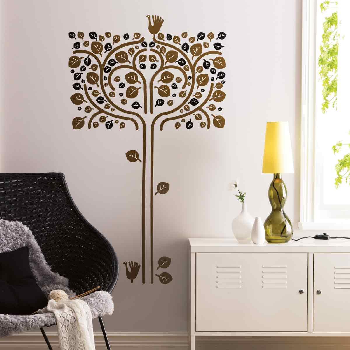 Wall-stencil-art