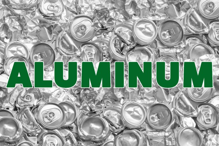 aluminum recyclable materials
