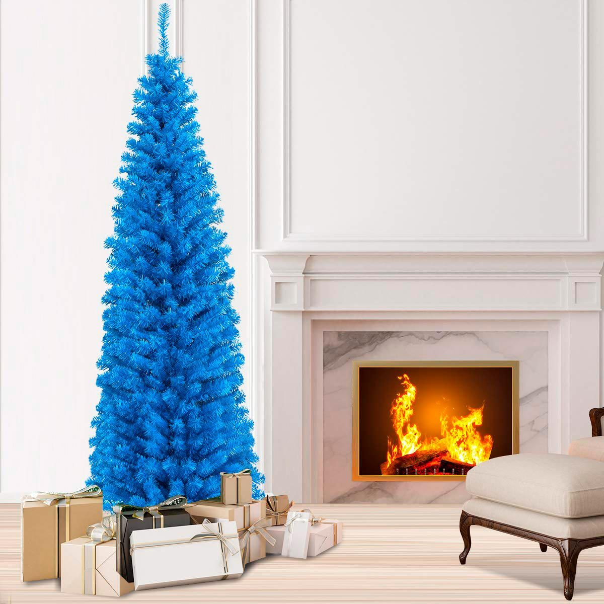 15 Gorgeous Colored Christmas Trees