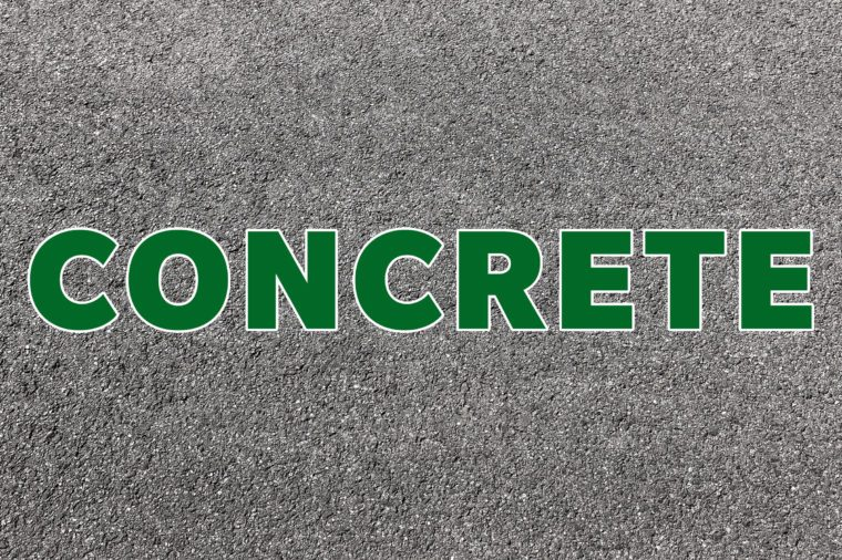 concrete recyclable material