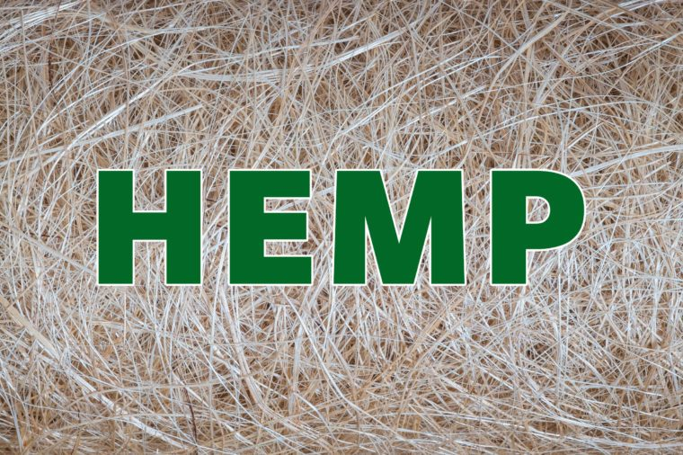 hemp recyclable material