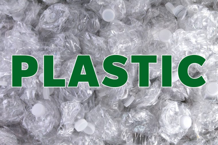 plastic recyclable material