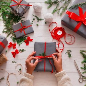 9 Tips For Wrapping Gifts Quickly (No Gift Bag Required)
