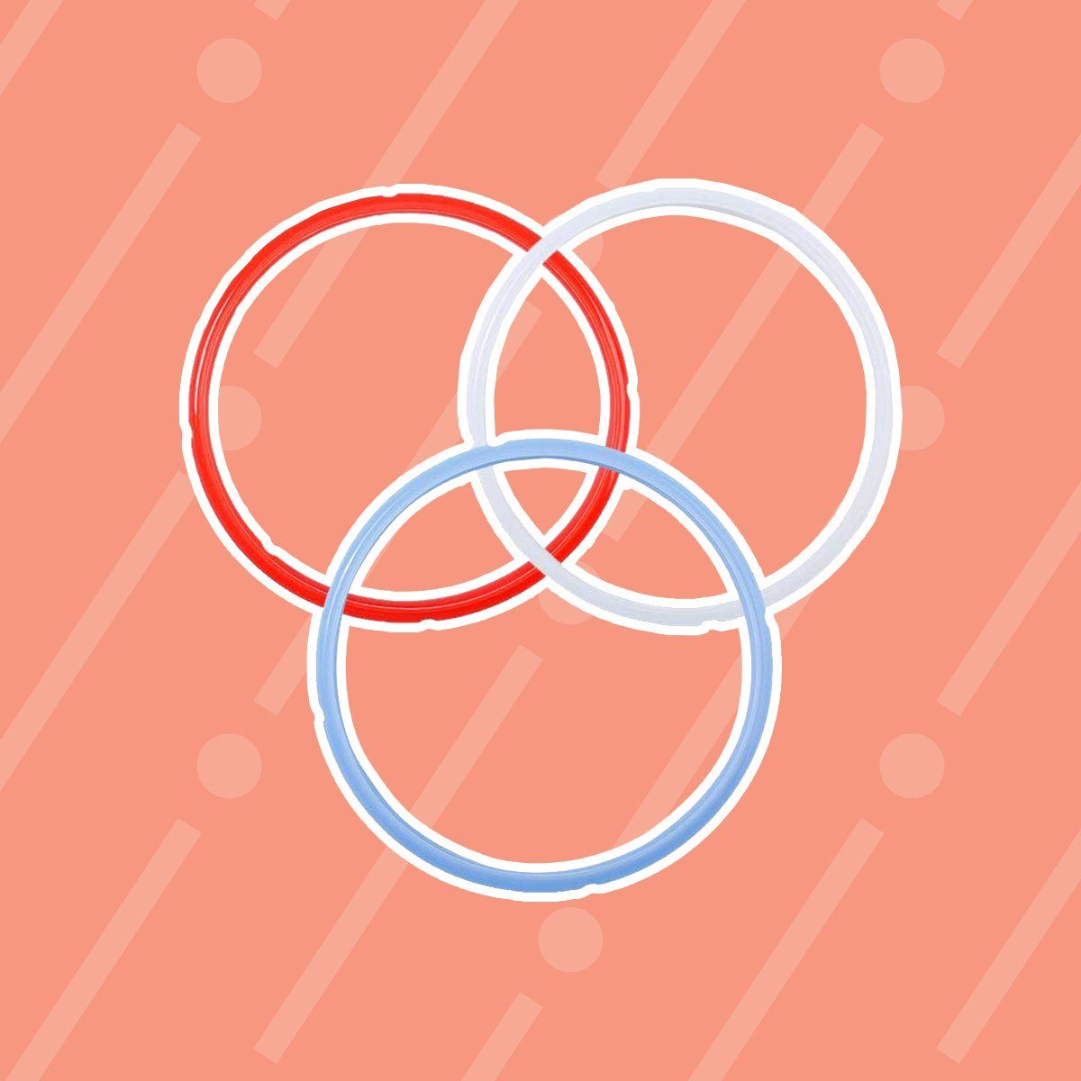 3 Pack Silicone Sealing Ring