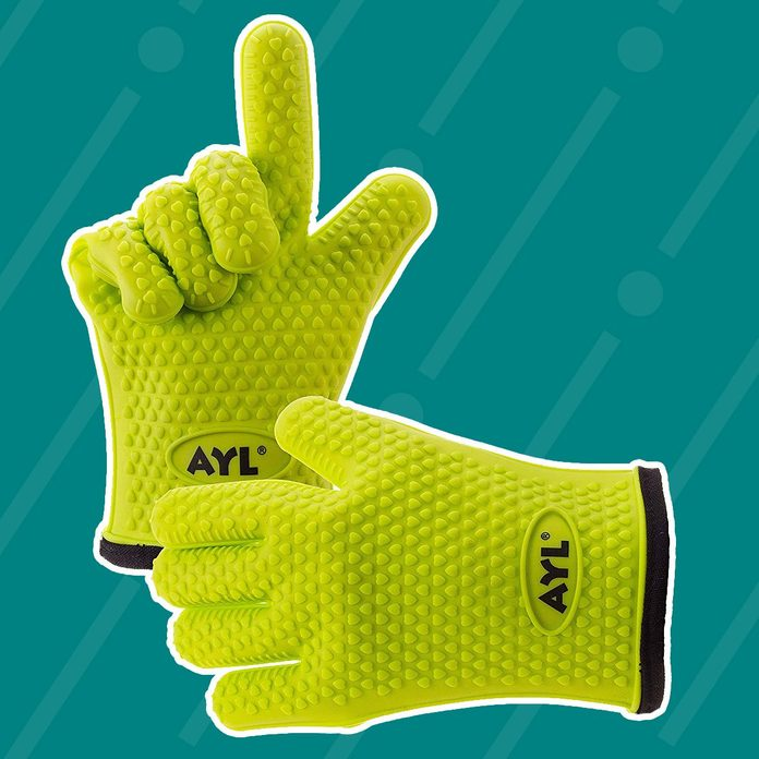 AYL Silicone Cooking Gloves