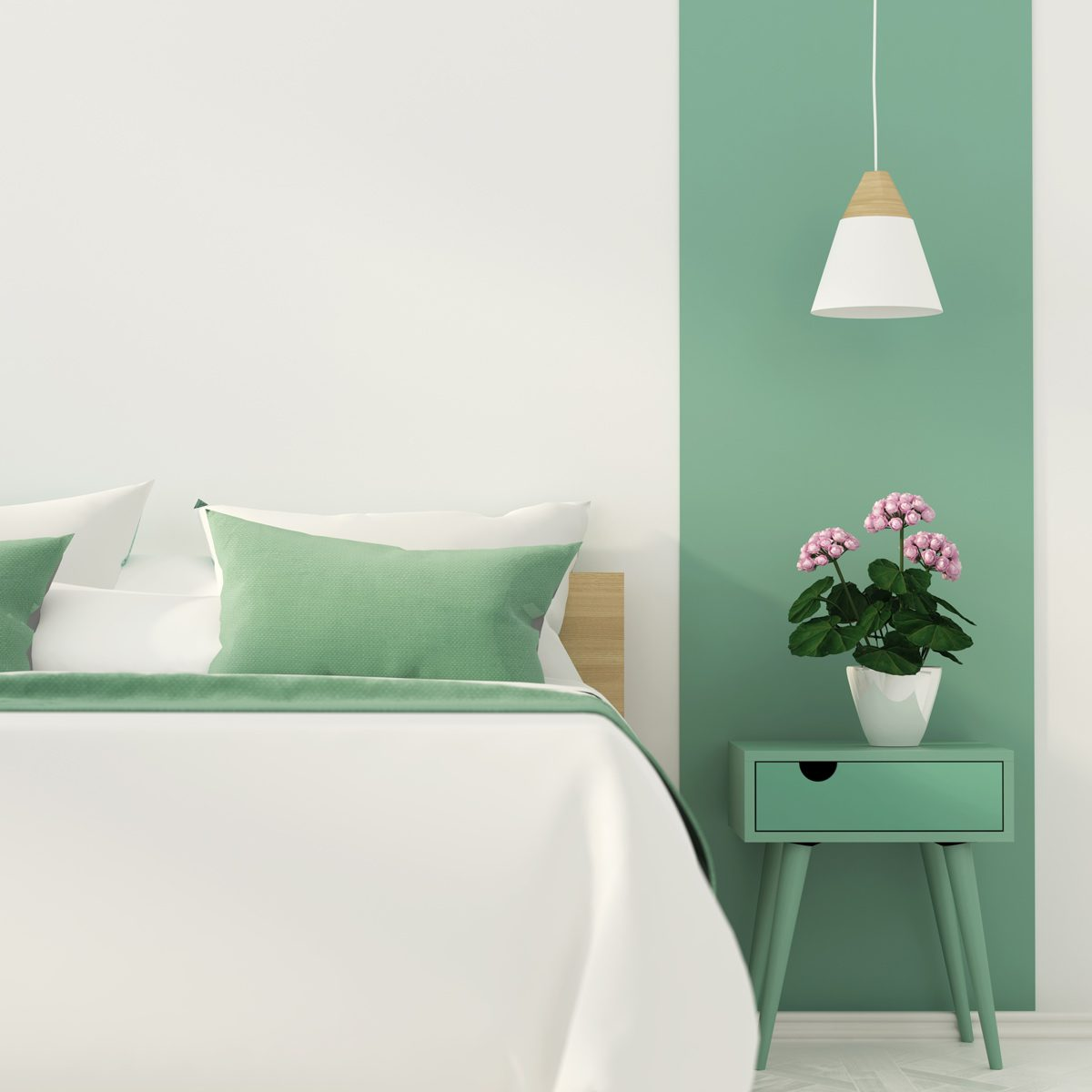 monochromatic room color design bedroom